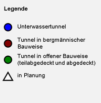Legende Tunnel